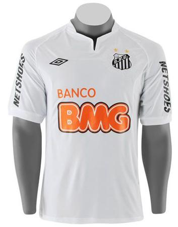 Novas camisas do Santos modelo 2011  foto bb6ac5aca28a0