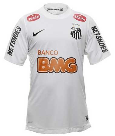 20e1bb518d509 Nova camisa do Santos 2012 Nike  foto