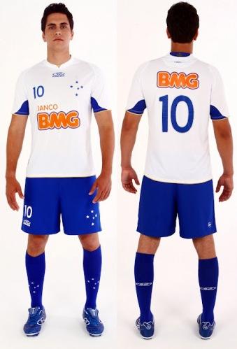 Novas camisas do Cruzeiro Olympikus 2012: foto, preço e onde comprar