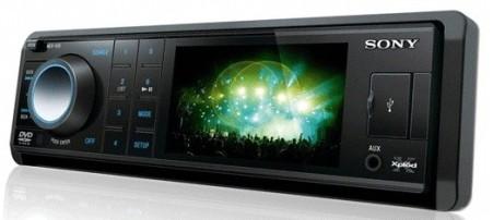 DVD automotivo Sony Xplod MEX-V30 foto