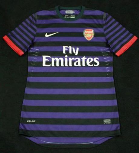 Novas camisas do Arsenal 2012/2013: preço, foto e onde comprar